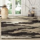 Beale Beige/Brown Area Rug Rug Size: Rectangle 5'3