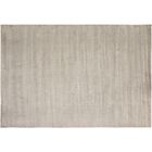 Bakerstown Hand-Tufted Silk Silver Indoor Area Rug Rug Size: Rectangle 5'1