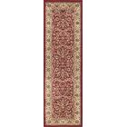 Clarence Red Area Rug Rug Size: 2'3'' x 10'