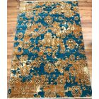 Serina Blue/Brown Area Rug Rug Size: Rectangle 8' x 10'