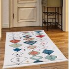 Rubie White Area Rug Rug Size: Rectangle 7'8
