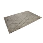 Crossman Hand Knotted Wool Gray Indoor Area Rug Rug Size: Rectangle 6' x 9'