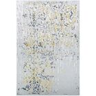 Jakes Gold/Silver Area Rug Rug Size: Rectangle 7'10