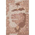 Landreth Hand Tufted Wool Distressed Rust/Brown Area Rug Rug Size: Rectangle 8' x 10'