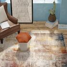 Foresta Ivory/Red Area Rug Rug Size: Rectangle 3' x 5'