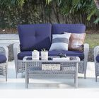 Edwards 2 Piece Sofa Set with Cushions Frame Color: Gray