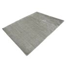 Chretien String Hand-Tufted Wool Gray Area Rug Rug Size: Rectangle 7'11