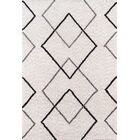 Bungalow Felix Hand-Tufted Gray Area Rug Rug Size: Rectangle 3'6