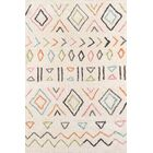 Bungalow Wes Hand-Tufted Ivory Area Rug Rug Size: Rectangle 5' x 7'6