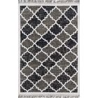 California Hand Woven Cotton Charcoal Area Rug Rug Size: Runner 2'3