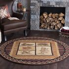 Stanley Brown Area Rug Rug Size: 7'10'' Round