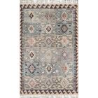 Chenoweth Hand-Knotted Wool Blue Area Rug Rug Size: Runner 2'3