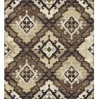 Colston Brown Area Rug Rug Size: Rectangle 7'11