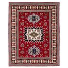 One-of-a-Kind Doering Hand Knotted Wool Red Area Rug