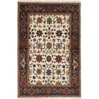 One-of-a-Kind Doerr Hand Knotted Wool Cream Area Rug