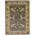 One-of-a-Kind Doggett Hand Knotted Wool Dark Gray Area Rug