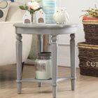 Jantz End Table Table Top Color: Gray