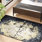 Hyannis Charcoal/Beige Area Rug Rug Size: Rectangle 5' x 8'
