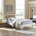Thelen Bed Frame Color: White