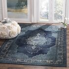 Moores Vintage Navy Area Rug Rug Size: Rectangle 8'10