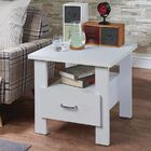 Quirke Square 1 Drawer Wood Nightstand