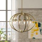 Bynoe 6-Light Globe Chandelier Finish: Satin Brass