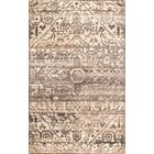Charboneau Hand-Woven Wool Brown Area Rug Rug Size: Rectangle 5' x 8'