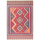 Channell Wool Burgundy Area Rug Rug Size: Rectangle 7'6