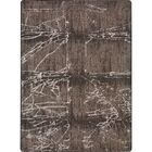 Canup Fractured Brown Area Rug Rug Size: Rectangle 7'8