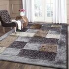 Yarbrough Hand-Tufted Beige/Gray Area Rug Rug Size: Rectangle 7'6