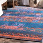 Chambers Navy Blue Area Rug Rug Size: Rectangle 8' x 10'