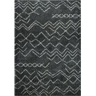 Cedar Shaggy Dark Grey Area Rug Rug Size: Rectangle 3'11