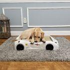 Dog Car Bed Color: White