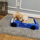 Dog Car Bed Color: Blue