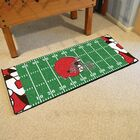 NFL Green Area Rug Team: Cleveland Browns