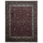 One-of-a-Kind Liddle Oriental Hand Woven Wool Red/Black Area Rug