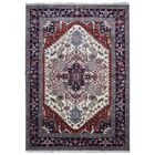 One-of-a-Kind Etchison Oriental Hand Woven Wool Black/Beige Area Rug