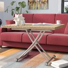 Fredericks Transforming Coffee Table Top Color: Natural