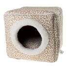 Cave Cat Bed Color: Cheetah Print