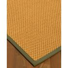 Kimes Hand-Woven Beige Area Rug Rug Size: Rectangle 4' x 6'