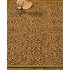 Bischoffs Hand-Woven Brown Area Rug Rug Size: Rectangle 9' x 12'