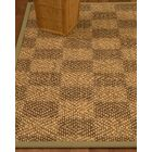 Badley Hand-Woven Brown/Beige Area Rug Rug Size: Rectangle 6' x 9'