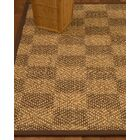 Badley Hand-Woven Beige/Brown Area Rug Rug Size: Rectangle 6' x 9'