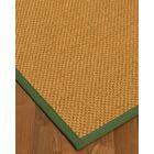Halter Hand-Woven Beige Area Rug Rug Size: Rectangle 4' x 6'