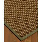 Kimbrel Hand-Woven Brown Area Rug Rug Size: Rectangle 9' x 12'