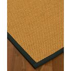 Halter Hand-Woven Beige Area Rug Rug Size: Rectangle 8' x 10'