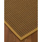 Kimbrel Hand-Woven Brown Area Rug Rug Size: Rectangle 8' x 10'