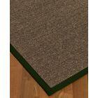 Bafford Hand-Woven Black Area Rug Rug Size: Rectangle 8' x 10'