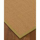 Badham Hand-Woven Wool Beige Area Rug Rug Size: Rectangle 3' x 5'