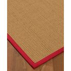 Badham Hand-Woven Wool Beige Area Rug Rug Size: Rectangle 3' x 5'